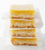 Slim Lemon Squares