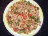 Becky's Chicken Alfredo Parmesan Pasta