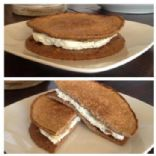 Egg White Oatcake Sandwich