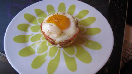 100-Calorie Egg Bake Breakfast Cups