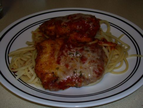 Twenty Minute Chicken Parmesan RECIPE