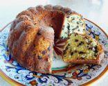 Cream Cheese Chocolate Chip Pound Cake