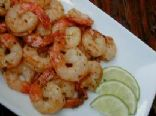 Spicy Garlic and Lime Shrimp  (by POPPYKLAPROOSJE)