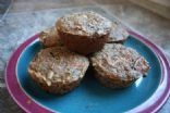 Apple Carrot Flax Muffins