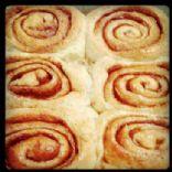 Britta's amazing vegan cinnamon rolls