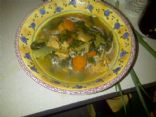 French Tarragon Chicken Soup w/Ginger