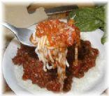 Shirataki noodle spaghetti