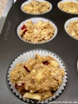 Oatmeal Apple Cinnamon Muffins
