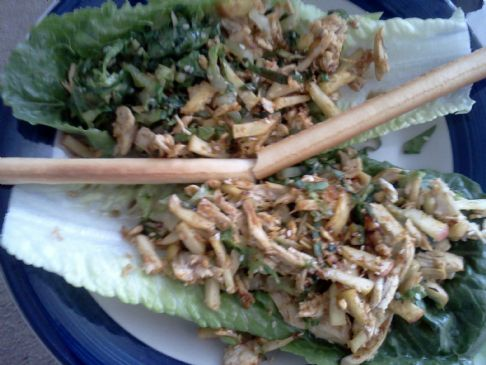 Chicken in Romaine Lettuce Leafs (HCG)