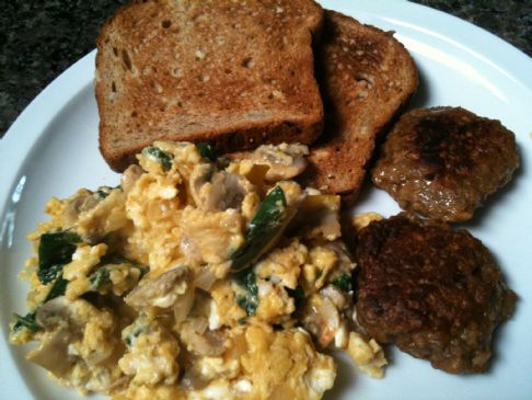 Veggie Scramble w/ Smoked Paprika