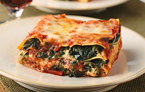 best spinach lasagna spinach and mushroom lasagna spinach and mushroom ...