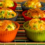 Egg White Casserole Muffins