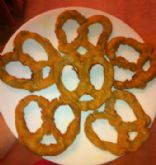 No-Hassle Soft Pretzels (from pretzel machine) Whole Wheat and Vegan