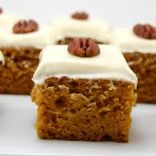 Pumpkin Bars HEALTHY Make-over