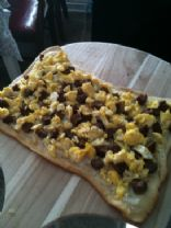 Vegetarian Breakfast Pizza