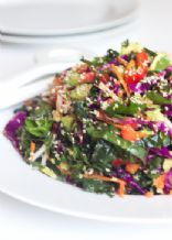 Homemade Levity Detox Salad with Lemon Dressing