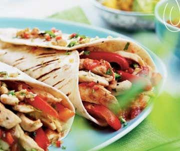 Party Chicken Fajita Filling