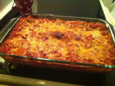 Jennifer's Super Easy Turkey Lasagna!
