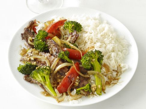Chinese Beef with Broccoli (Food Network Magazine)