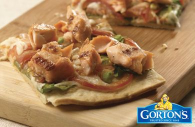 Grilled Gluten Free Flatbread from Gorton's