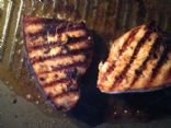 Swordfish with Chili Garlic Marinade