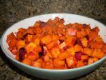 Cranberried Sweet Potatoes