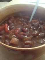 Black Bean Veg Chili