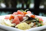 pomelo salad with thai mint dressing
