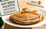 Dukan Oat Bran Galette (Pancake) Attack Phase