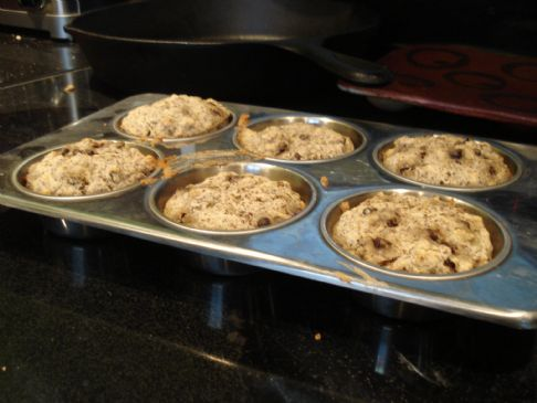 Gluten Free Chocolate Chip & Berry Muffins