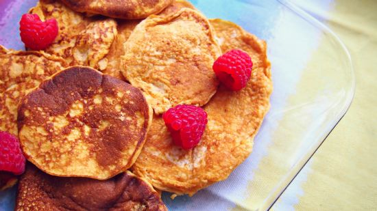 Pumpkin Protein Pancakes Four Ingredient