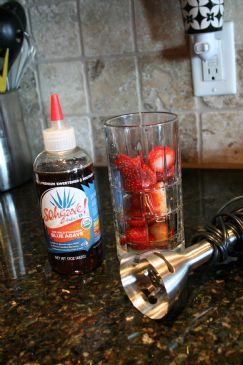 Strawberry Agave Syrup