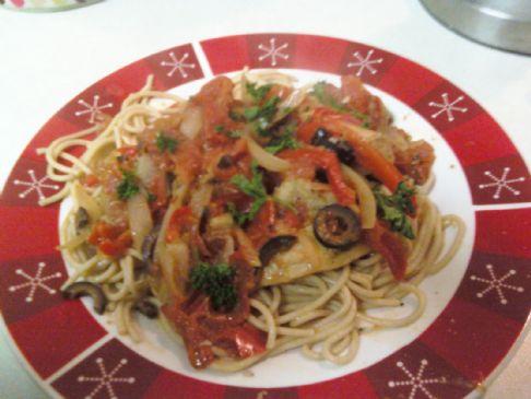 Chicken Cacciatore Recipe Sparkrecipes