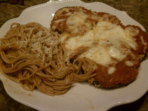 Low-Fat Eggplant Parmesan (Parm)