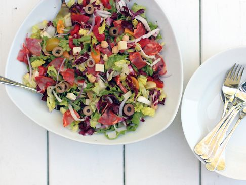 Spanish Chopped Salad