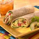 Chicken Avocado and Provolone Wrap