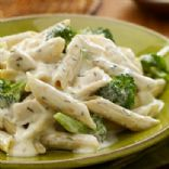 Basil Pesto Cream Chicken and Pasta