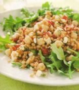 Wheat Berry and Arugula Salad