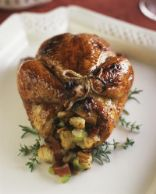 Spinach Feta Stuffed Cornish Hen