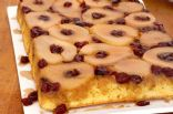 Pear and Cranberry Upside-Down Cake