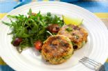 Baked Salmon Patties with Chia Seed