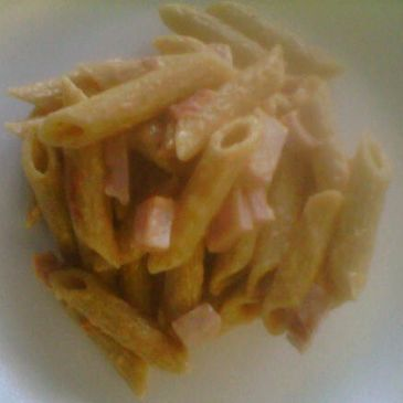 4 Cheese and Ham Wheat Penne