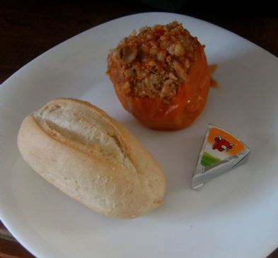 Stuffed Peppers with the Laughing Cow