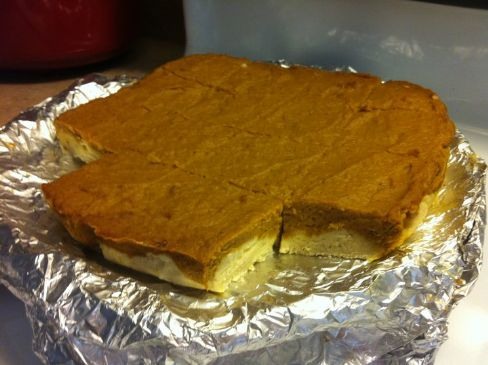Pumpkin Shortbread Bars - Fat Free AND Sugar Free