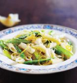 Whole Wheat Pasta with Asparagus and Lemon