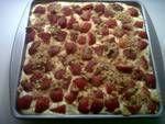 Low Fat Graham Cracker Strawberry/Banana Dessert