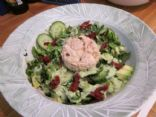 Tuna Salad with Curried Avocado Dressing