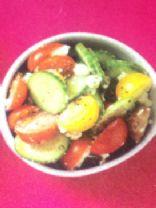 Meghan's Cucumber Feta Salad