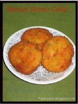 Potato Paneer Cutlet - Actifry