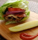 Chicken Chipotle Burgers with Bibb Lettuce Buns